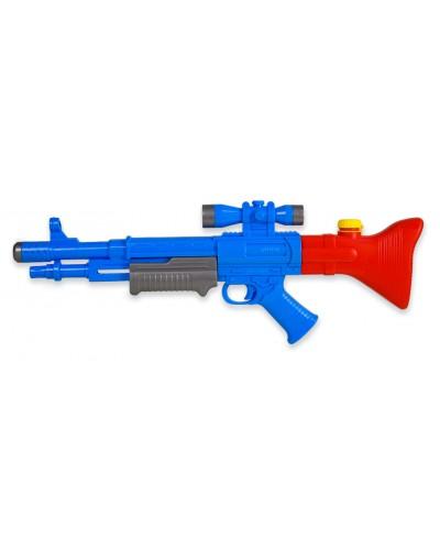 Водный пистолет WG190241 с насосом, в пакете 26х68см