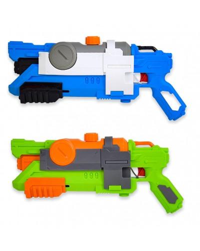 Водный пистолет WG190250 с насосом, в пакете 22,5х50см