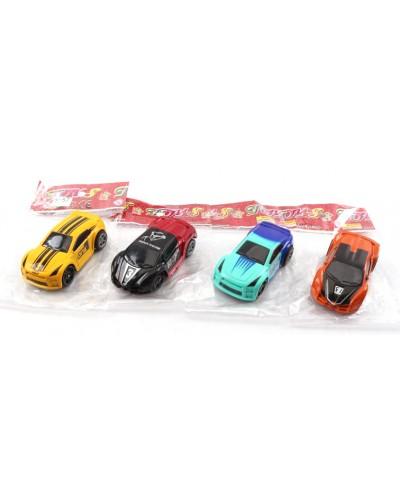 Машина инерц 399-57 4 вида, в пакете 7*3*2см