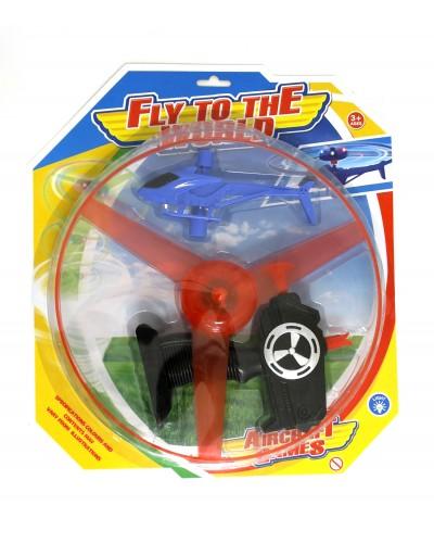 Запускалка вертолет ZF-4A на планш 34*30,5*3,5см