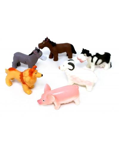 Животные P85 домашние, в пакете 16,5см