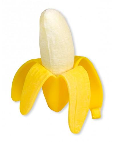 Антистресс AN1904 банан, тянется, размер игрушки 13см, 12 шт в дисплей боксе /цена за шт/