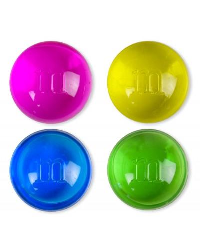 Лизун SL1930 аромат. M&M 4 цвета, размер 4см, 48 шт в дисплей боксе /цена за шт/