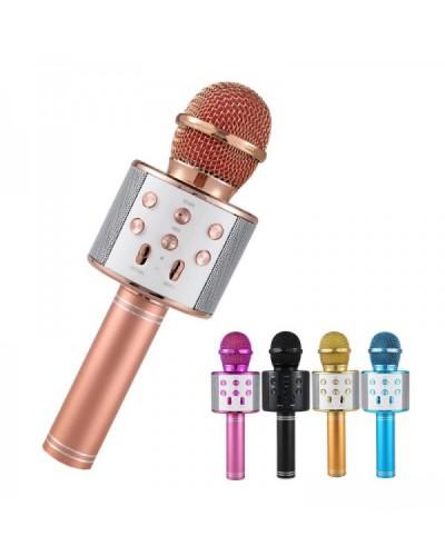 Микрофон WS-858 юсб, караоке., в коробке 24*9*8см
