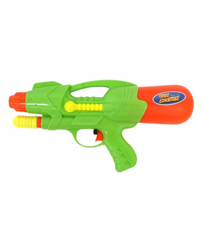 Водный пистолет 2823-13 с насосом, в пакете 27*14см