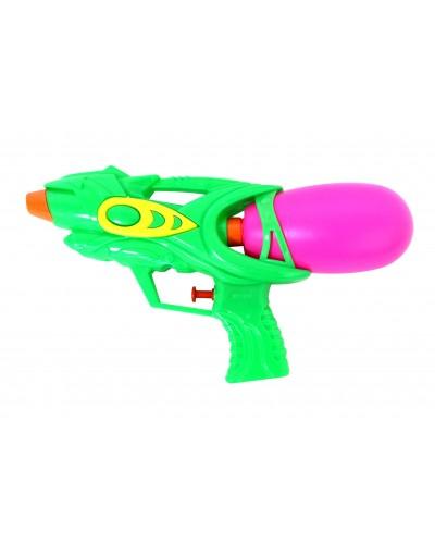 Водяной пистолет 1229 2 вида в пакете 25см