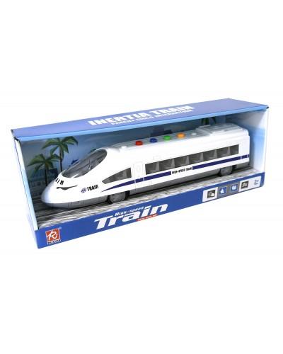 Поезд батар RJ3320A свет, звук, в коробке 35*7*8см
