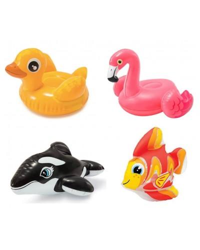 """Надувная игрушка 58590 """"Весело купаться"""", 4 вида, (2+лет) в кор. 15*20 см"""