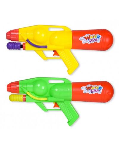 Водный пистолет TK995 с насосом в пакете, 29см, 2цв