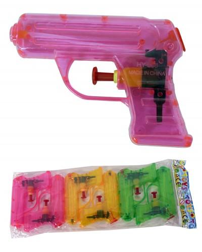 Водяной пистолет HY-588  3 вида в пакете, 14*8*3см