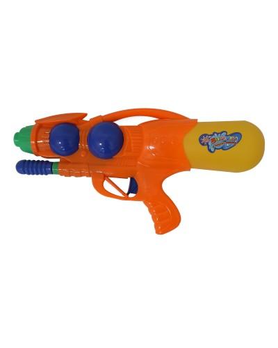 Водяной пистолет 1304 с насосом, в пакете 33см