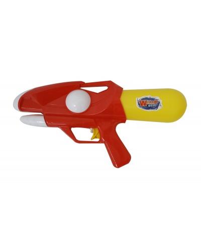 Водный пистолет YW0447 с насосом, в пакете 32см