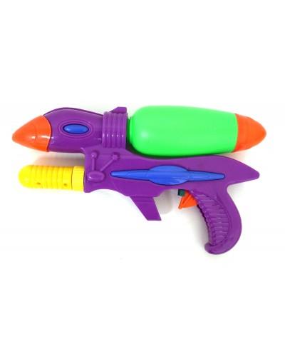 Водяной пистолет 331B с насосом, в пакете 29см