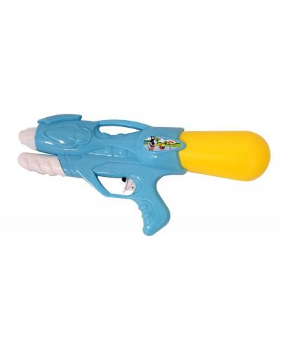 Водный пистолет YW0455 с насосом, в пакете 31см