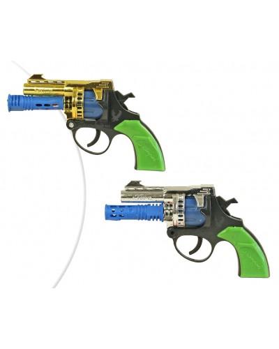 Пистолет под пистоны B2M  2 цвета, в пакете 17*12*4см