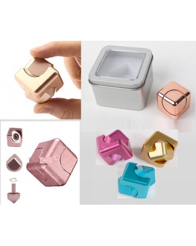 Кубик-антистресс R005 метал, в боксе 6,5*6,5*4,5 см