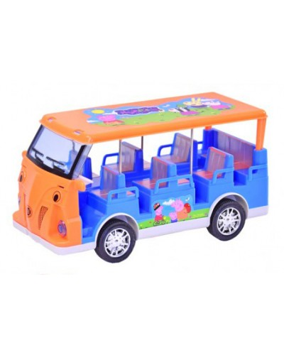 Автобус батар. 6604 в коробке 26,5*15*17см