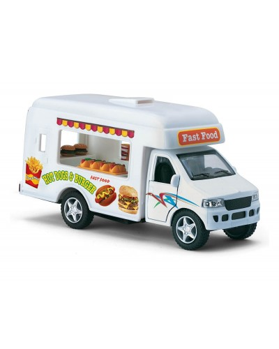"Машина металл ""KINSMART"" KS5257W ""Fust Food"", в коробке 16*5,5*8,5 см"