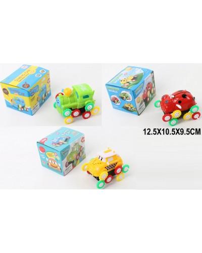Перевертыш батар. 667/668/669-2 3 вида, в коробке 19*8*9см