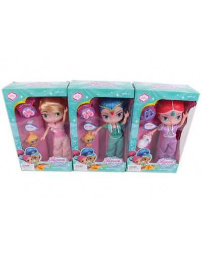 "Кукла ""S and S"" PP1208 3 вида, с питомцами, туфельки, в кор. 19,5*9*31см"