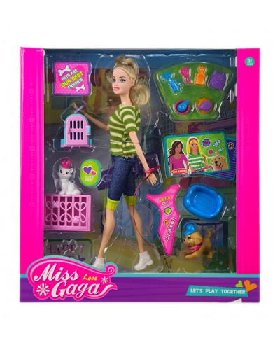 "Кукла типа ""Барби"" 51804 с питомцами и аксессуарами, в кор. 35*32,5*8 см"