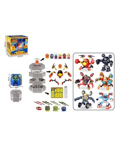 Игровой набор N801 фигурка, аксесс., в коробке 10,2*9,1*10,1см