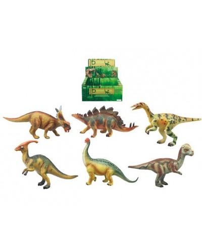 Животные Q9899-314/319 2 вида, динозавр, в боксе 12 шт. 27*19*11см /цена за бокс/