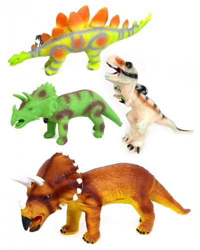 Животные SDH359-7/8/9/10/1/2/3/20/21  9 микс, динозавры, звук, размер изд. 50см /цена за шт/
