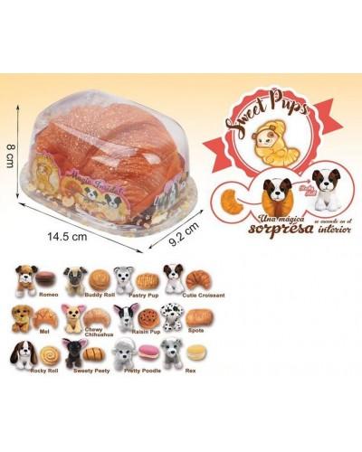 Животные-вывернушки 20019 Сладкие щенки, 12 видов, на планшетке 8*14,5*9,2см