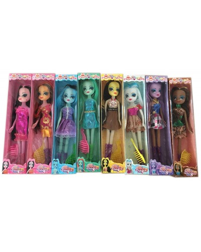 "Кукла ""MLP"" 117A  8 видов микс, в кор., 27*7*4,4 см"