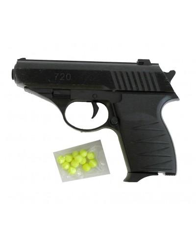 Пистолет 720 пульки в пакете 12,5см
