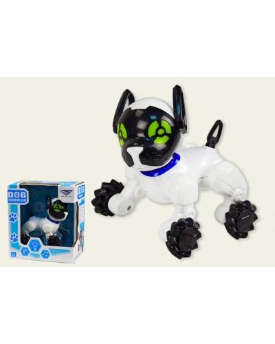 Интерактивное животное SY6898B-2 Собака, батар., звук, прыгает, фразы, в коробке