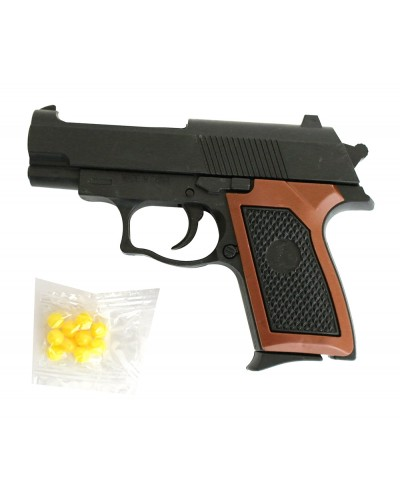 Пистолет 809 пульки в пакете 12*8,5*2,5см
