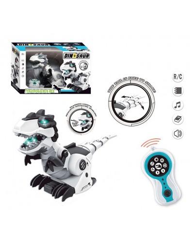 Животное на р/у 128A-21 Динозавр, пульт, движение, свет, звук, в коробке 23*15*38см