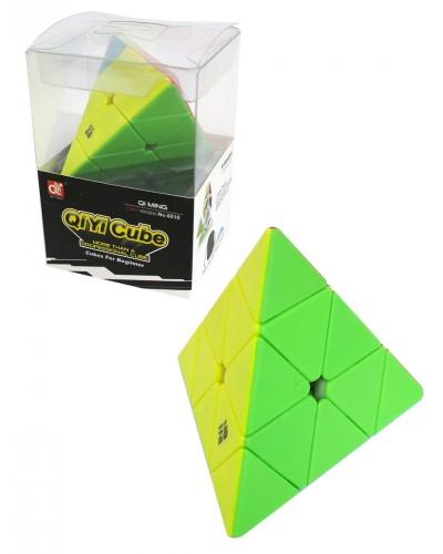 Кубик логика 6010 треугольный, в коробке 9*8*13см