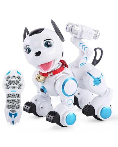 Интерактивное животное K10 Собака, батар. ,муз, тактильное управлен, в кор. 33*25*30см