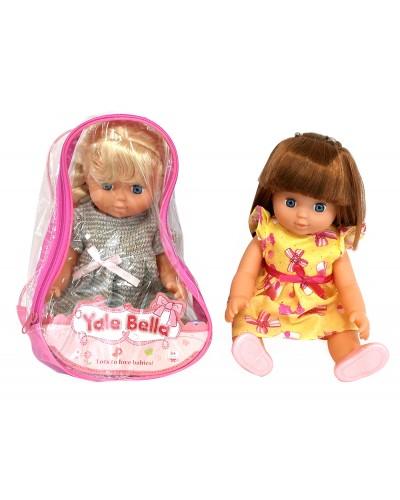 "Кукла муз. ""Изабелла"" YL1702K-A/B/C 6 вид, в рюкзаке"
