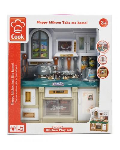 Кухня 3022 свет/муз, мебель, посуда, в кор.26*10,5*29,5см