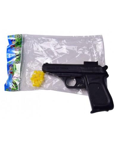 Пистолет 003-1 пульки, в пакете 13*9см