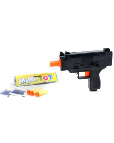 Пистолет YT888 пороллон снар+гел пульки, в пакете 21*3*13см