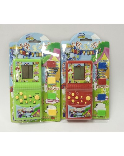 Тетрис E33-4S 2 цвета, на планшетке 20*13 см