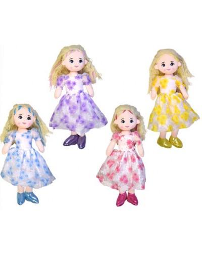 Кукла мягкая CEL-151  4 вида, высота куклы 60см, в пакете 25*76 см