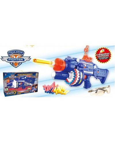 Оружие с поролон. снарядами аккум. SB250 в кор. 61,5*31*15см