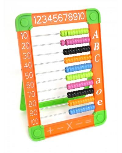 Счеты HY8022 3 цвета микс, в пакете 30*15см