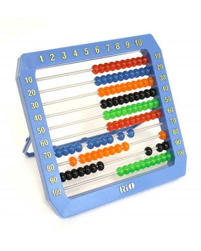 Счеты HY8036 4 цвета микс, в пакете 18*15см