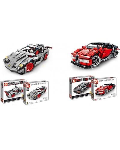 Конструктор 701400/701401  2 вида, Bugatti, Lamborgini, в кор. 36,8*33,8*6,8 см