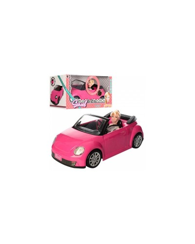 Машина 6633 батар., с куклой, в кор. 45,5*22*23см