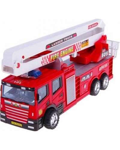 Пожарная машина инерц. SH-8833 под слюдой 32*10*10см