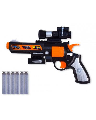 Оружие с поролон. снарядами SB439-1 в кор. 35,8*23*6см