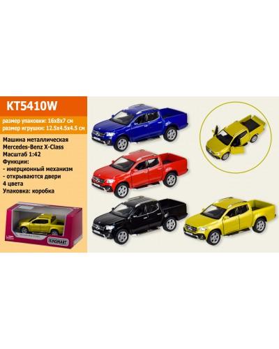 "Машина металл. ""KINSMART"" KT5410W ""Mercedes-Benz X-Class"", в коробке 16*8*7см"